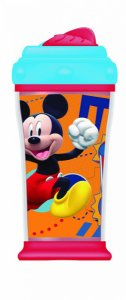Copo Térmico Com Canudo De Silicone Mickey - Multikids - BB