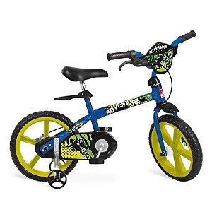 Bicicleta 14'' Adventure Bandeirante - 3011