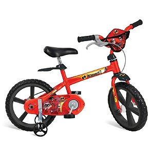 """Bicicleta 14"""" Os Incríveis 2 Bandeirante"""
