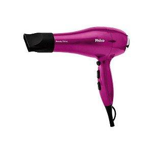 Secador De Cabelo 2000W Beauty Shine 220v Pink - Philco