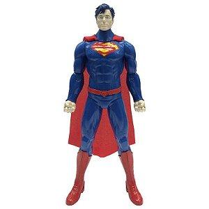 Boneco Superman Articulado 14 Pol Liga da Justiça Candide