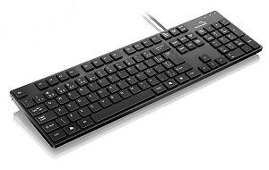 Teclado Soft Touch USB Preto Multilaser - TC142