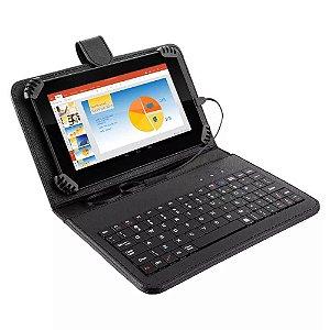 Tablet M7S Plus com teclado Wifi Tela 7 Pol 1GB RAM Android