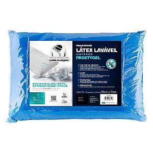 Travesseiro Látex Lavável Sintético Frostygel p/fronhas 5