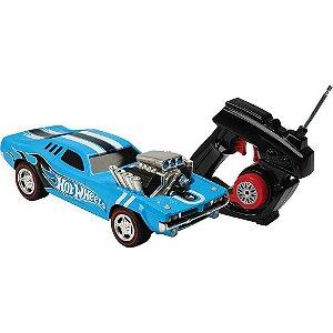 Carro com Controle Remoto Rodger Dodger Hot Wheels Candide