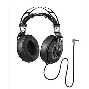 Headphone Premium Wired Large Preto