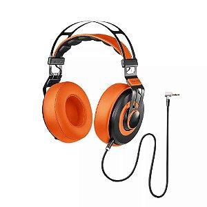 Headphone Premium Wired Large Laranja
