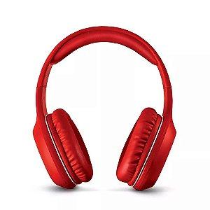 Fone de Ouvido POP Bluetooth P2 Vermelho Multilaser