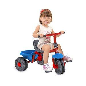 Triciclo Smart Plus Vermelho Bandeirante - 280