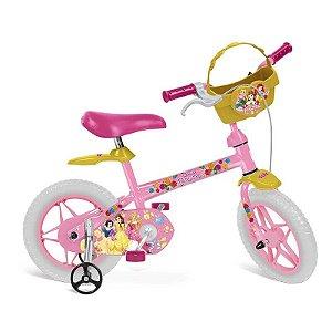 Bicicleta ARO 12 Princesas Disney - Bandeirante