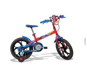 """Bicicleta Spider Man 16"""" Caloi - 450047.19007"""