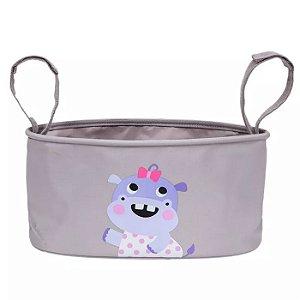 Cesta Organizadora para Carrinhos - Happy Hipopótamo - Buba