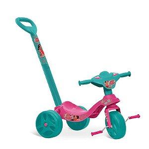 Triciclo Tico Tico Passeio & Pedal Elena de Avalor Disney Ba