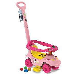 Primeiros Passos Passeio & Andador Baby Disney Minnie Bandei