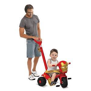 Triciclo Velocipede Passeio & Pedal Homem de Ferro Bandeiran
