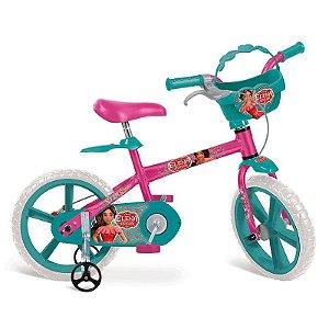 Bicicleta 14? Elena de Avalor Disney Bandeirante - 3107