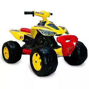 Quadriciclo Elétrico 12V - Amarelo Bandeirante
