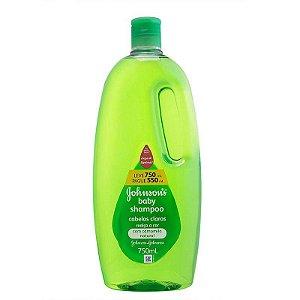 Shampoo Infantil Johnsons Baby Cabelos Claros 750ml