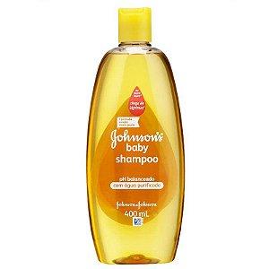 Shampoo Infantil Johnson's Baby Ph Balanceado 400ml