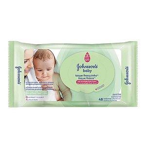 Toalhinhas Umedecidas Johnson's Baby Toque Fresquinho 48 Uni