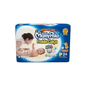 Fralda-Calça MamyPoko Tamanho P – 24 Unidades