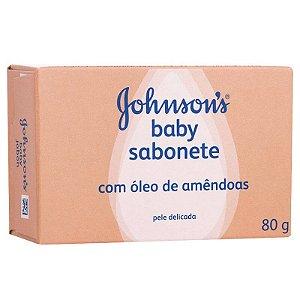 Sabonete em Barra Infantil Johnsons Baby Óleo de Amêndoas