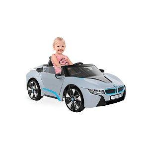 BMW Spyder Prata com controle remoto - EL 12V - Bandeirante
