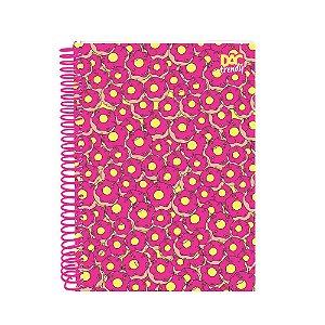 Caderno Universitário 15 Matérias Dac Trendy Donuts Dac -