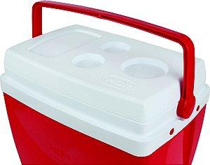 Caixa Termica 34L Vermelha Mor - 25108162