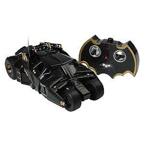 Carrinho de Controle Remoto 7 Funções Batmóvel Dark Knigh