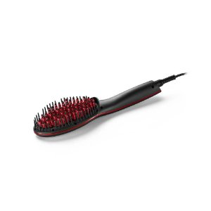 Escova Alisadora Beauty Bivolt Preta Multilaser - EB018