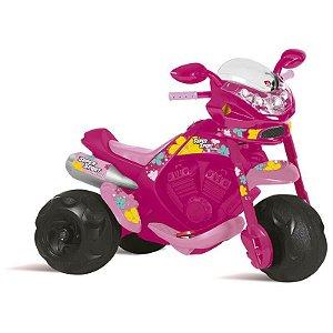 Moto Super Sport Rosa Elétrica 6v - 2595