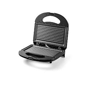Sanduicheira e Grill Inox Gourmet 750W 220v Multilaser
