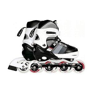 Patins Roller Semi-Pro Cinza M (34-37) Row Mor - 40600141