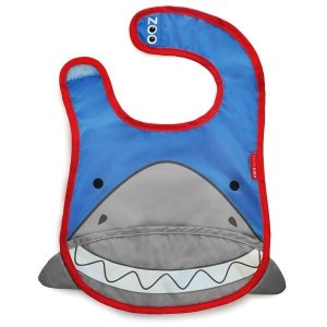 Babador Impermeável, Skip Hop Zoo, tema Tubarão