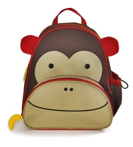 Mochila infantil Skip Hop Zoo, tema Macaco
