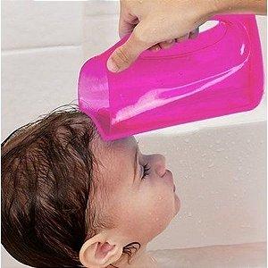 Caneca Macia para banho, da Munchkin, ROSA