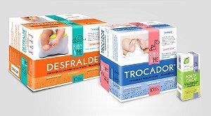 Survival Kit - Trocador Descartável Absorvente + Desfralde + Saquinhos Higiênicos, da Baby and Me
