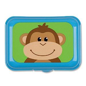 Porta Lanche infantil, tema Macaco, da Stephen Joseph