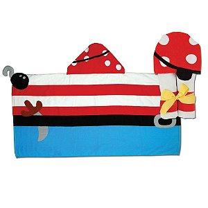 Toalha de banho infantil com capuz, tema Pirata, da Stephen Joseph
