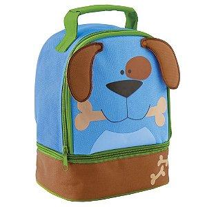 Lancheira infantil tema Cachorro azul, da Stephen Joseph