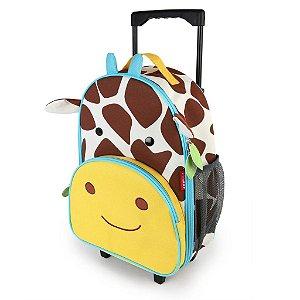 Mala de rodinhas infantil Skip Hop Zoo, tema Girafa
