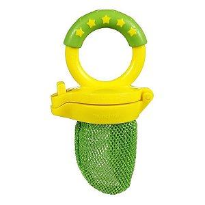 Alimentador redinha, cor Verde e Amarelo, da Munchkin