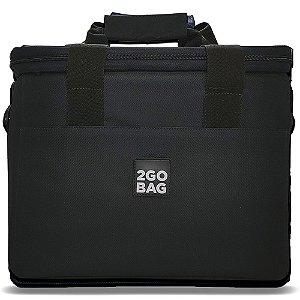 Bolsa Térmica 2go Bag Pro Black com Capacidade para 13,5 Litros