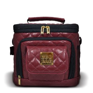 Bolsa Térmica  2goBag FASHION Mid Shine | Bordô