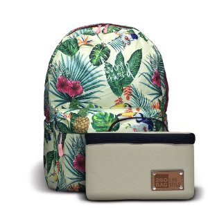 Mochila Térmica 2goBag 2GETHER LifeStyle | Green Flowers
