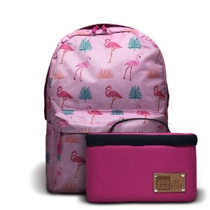 Mochila Térmica 2goBag 2GETHER LifeStyle | Pink Flamingos