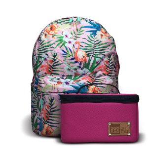 Mochila Térmica 2goBag 2GETHER LifeStyle | Pink Flowers