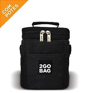 Bolsa Térmica 2goBag SPORT Mini Fit | Black