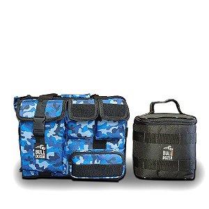 Bolsa Térmica BullDozer 2 em 1 XL | Army Blue